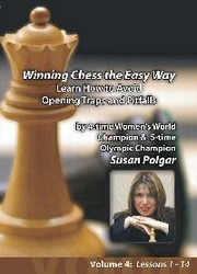 Susan Polgar: How to Avoid Opening Traps - Chess Opening Video DVD