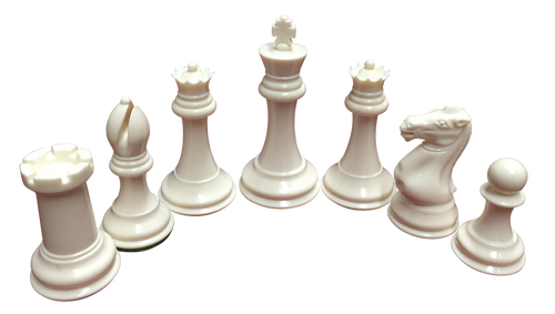 Quadruple weighted Chess Pieces