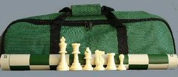 Standard Tournament Chess Set with How to Play Chess DVD