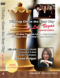 Susan Polgar, 6: Secrets on How to Think like a Grandmaster DVD