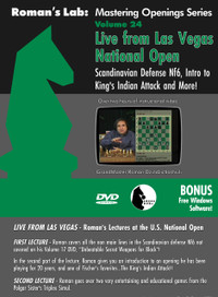 Roman's Lab 24: The Scandinavian with 2...Nf6 and More - Chess Opening Video DVD