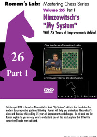 """Roman's Chess Labs:  26, Nimzowitsch's """"My System"""", Part 1 Chess DVD"""