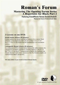 Roman's Forum: Vol. 32, Mastering the Opening Forum Series A Repertoire for Black Part 2 Download