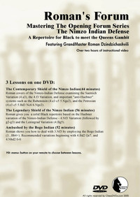 Roman's Forum 34: The Nimzo-Indian Defense - Chess Opening Video DVD