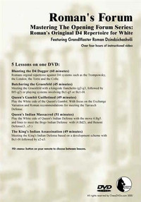 Roman's Forum: Vol. 35, Mastering the Opening Forum Series - Roman's original 1.d4 Repertoire for White Download