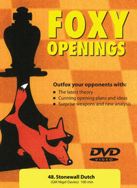 Foxy Chess Openings: Stonewall Dutch DVD