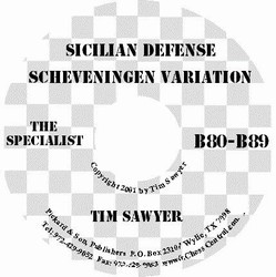 Sicilian Scheveningen The Specialist CD