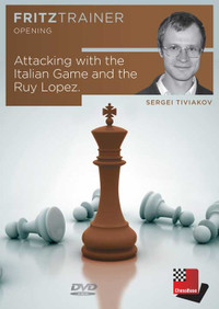 Attacking with the Italian Game and the Ruy Lopez, Chess Opening DVD