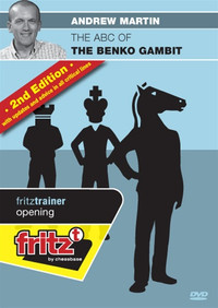 ABC of the Benko Gambit (2nd Ed) - Chess Opening Software on DVD
