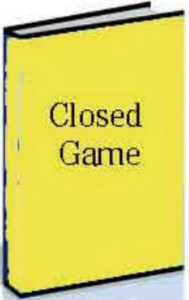 Closed Game: E-book for Download for Chess Openings Wizard