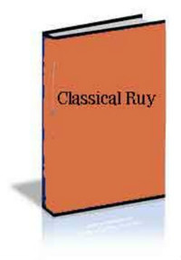 Classical Ruy: E-book for Download for Chess Openings Wizard