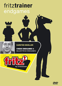 Chess Endgames 3 Major Piece Endgames DVD