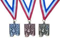 Chess Award Medals