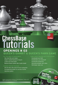 ChessBase Tutorials, Chess Openings #03: Queen's Gambit & Queen's Pawn Game DVD