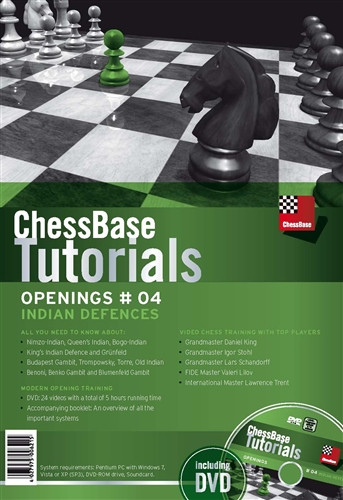 ChessBase Chess Tutorials, Openings #04: Indian Defenses DVD