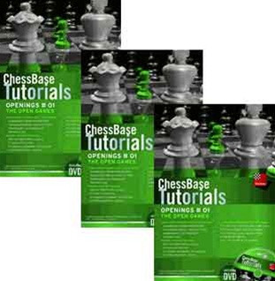 ChessBase Chess Tutorials, Openings any 3 for one Low price