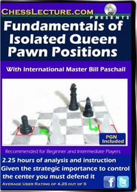The Fundamentals of Isolated Queen's Pawn Positions - Chess Opening Video DVD