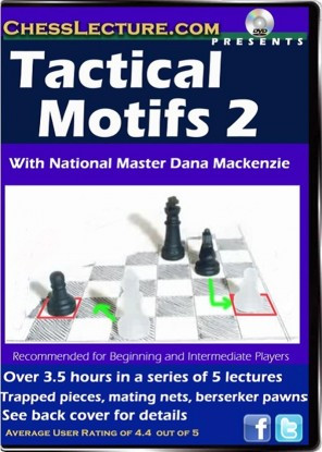 Chess Lecture: Tactical Motifs 2 DVD