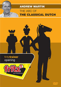 The ABC of the Classical Dutch Chess DVD