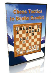 Chess Tactics in the Benko Gambit for Download