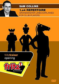 1.e4 Repertoire: Grandmaster Lines Explained for Club Players - Chess Opening Software on DVD