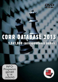 Corr. Chess Database 2013 DVD