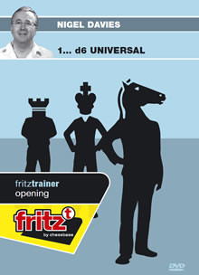 1...d6 Universal - Chess Opening Software on DVD