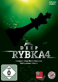 Deep Rybka 4 Chess Playing Software Program on DVD
