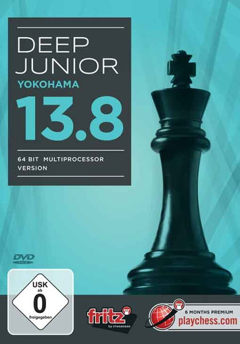 Deep Junior 13.8 åÐYokohama (64 Bit Multiprocessor Version) Chess Playing Software Program