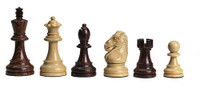 DGT e-Board with Royal Chess Pieces and Rosewood Chess Board