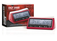 DGT 3000 Chess & Game Clock - Red