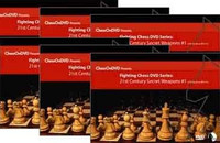 Dirty Tricks 1 & 2, Combat Chess 1 & 2, Secret Weapons 1 & 2 Chess DVDs