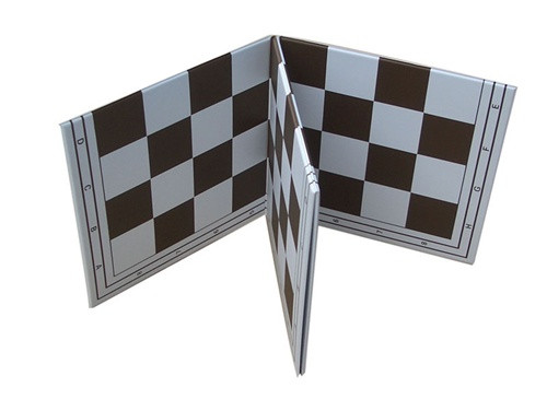 Folding Chess Board with 2.25 Squares - Double Fold