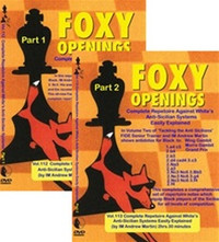 Foxy Chess Openings,  112-113: Complete Repertoire against White's Anti-Sicilian