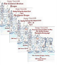 Foxy 140-143: The Sicilian Dragon (4 DVDs) - Chess Opening Video DVD