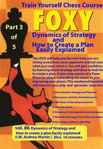 Train Yourself in Chess: Dynamics of Strategy and How to Create a Plan - Easily Explained Chess Download