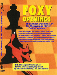 Foxy Chess Openings,  92: The English Opening for the Average Player  DVD