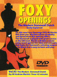 Foxy 93: The Dutch Defense, Stonewall Variation - Chess Opening Video Download