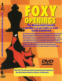 Foxy Chess Openings,  95: The Blumenfeld Gambit