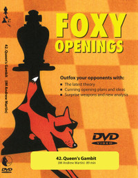 Foxy Chess Openings:  42, Queen's Gambit DVD