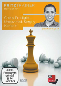 Prodigies Uncovered: Sergey Karjakin - Chess Biography Software DVD
