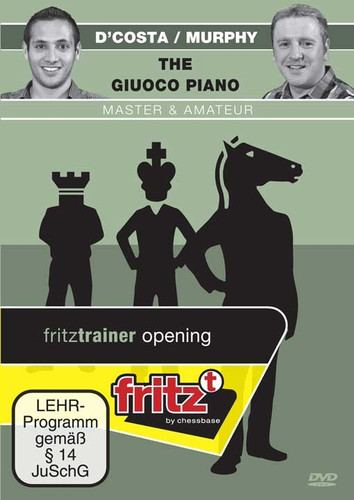 The Giuoco Piano - Master & Amateur, Chess Opening Software DVD