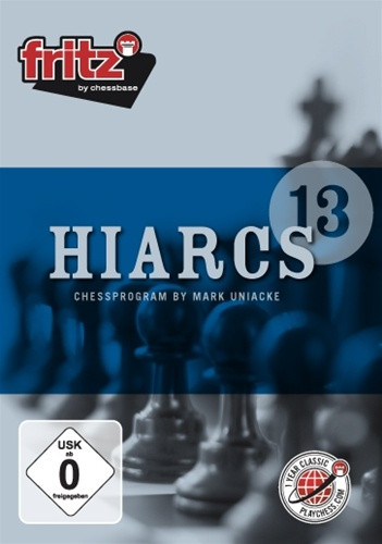 Hiarcs 13 Chess Playing Software DVD