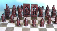 Charlemagne Chess Pieces