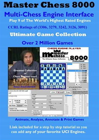 MasterChess 8000 with 7 Chess Engines