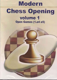 Modern Chess Opening, Vol. 1: Open Games (1.e4 e5) CD