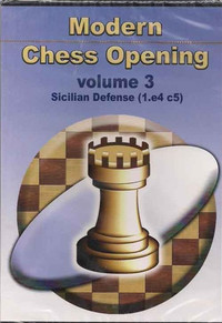 Modern Chess Opening, Vol. 3: Sicilian Defense (1.e4 c5) CD