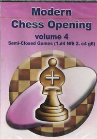 Modern Chess Openings, Vol. 4: Semi-Closed Games - Chess Opening Software Download