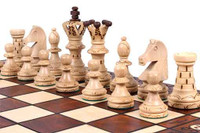 The Jarilo - Unique Wood Chess Set, Board & Storage