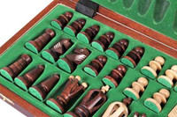 Chess Set: The Perun - Unique Wood Chess Set, Board & Storage